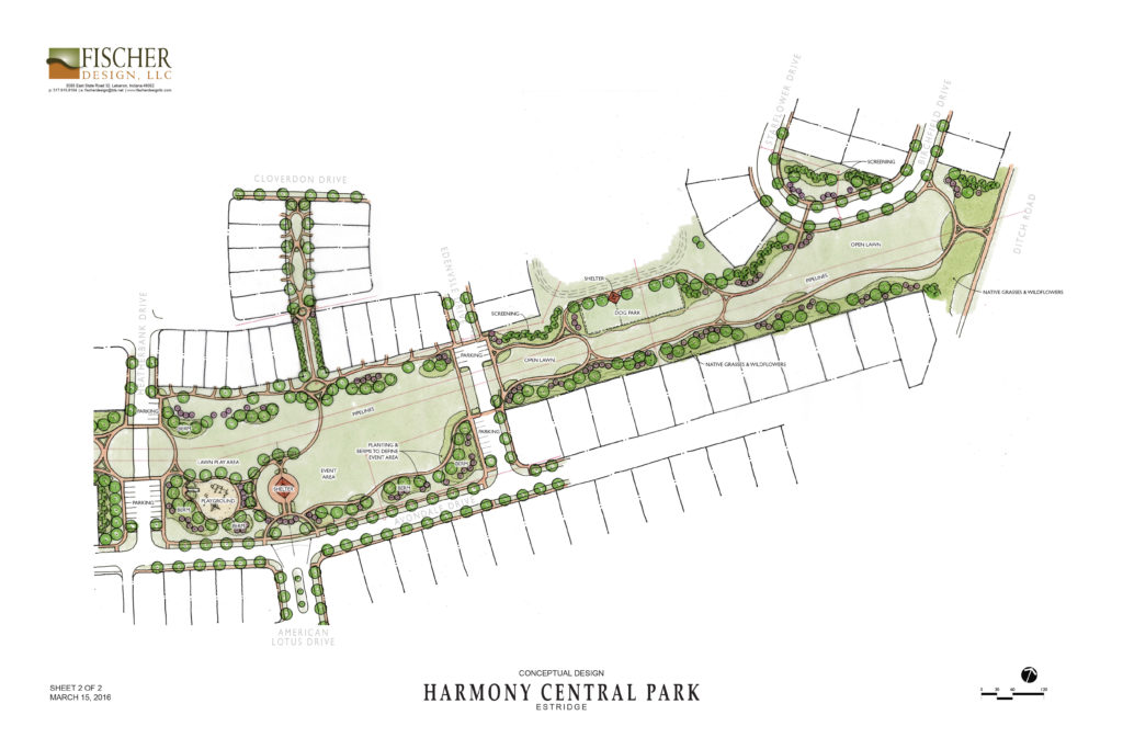 Landscape Architecture for Harmony – Westfield, Indiana
