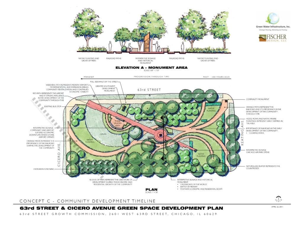 63rd Street & Cicero Avenue Green Space Development